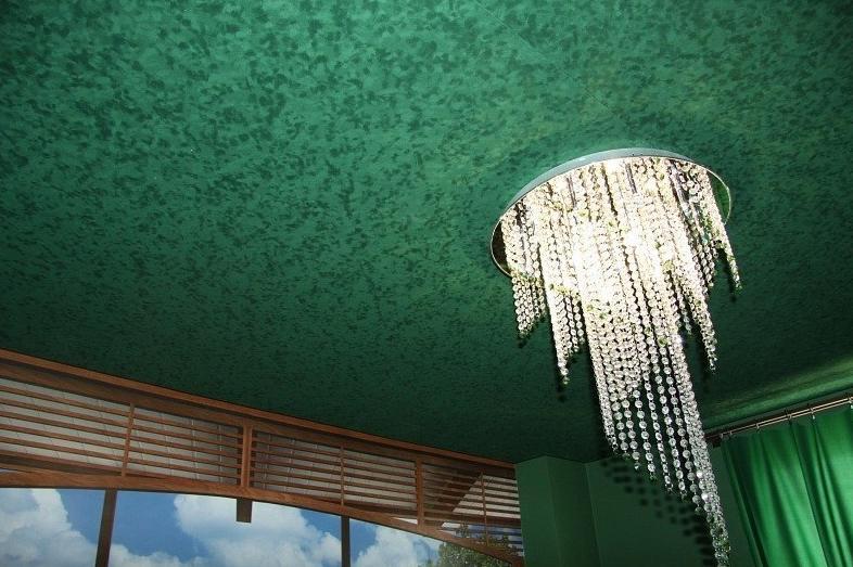 Фактурный потолок
